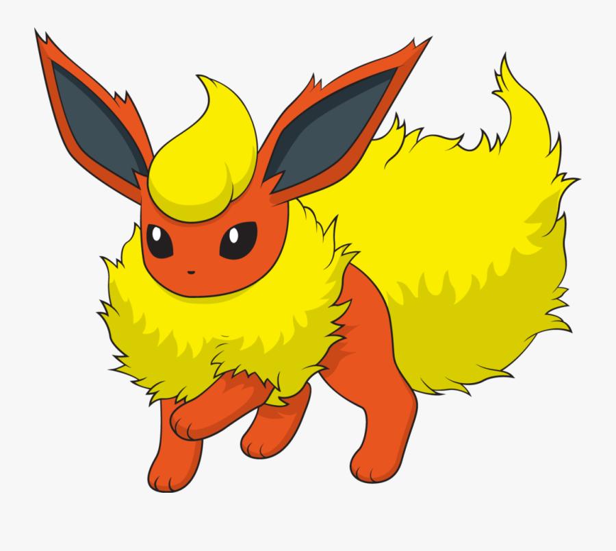 Pokemon Eevee Evolution Flareon, Transparent Clipart