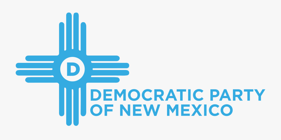 Clip Art The Democratic Party - New Mexico Democratic Party Logo, Transparent Clipart