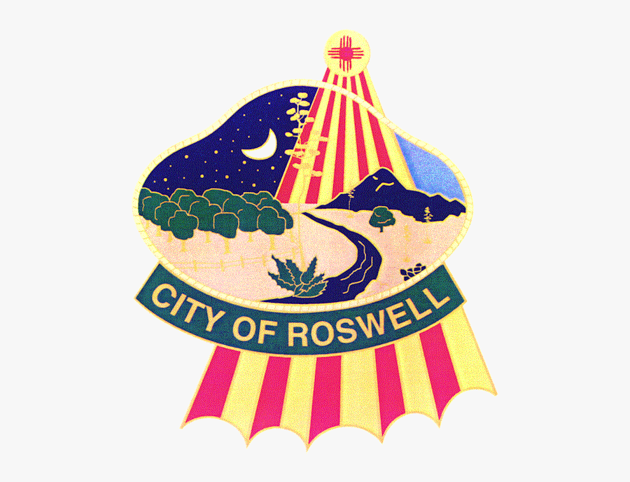 Roswell New Mexico Logo, Transparent Clipart