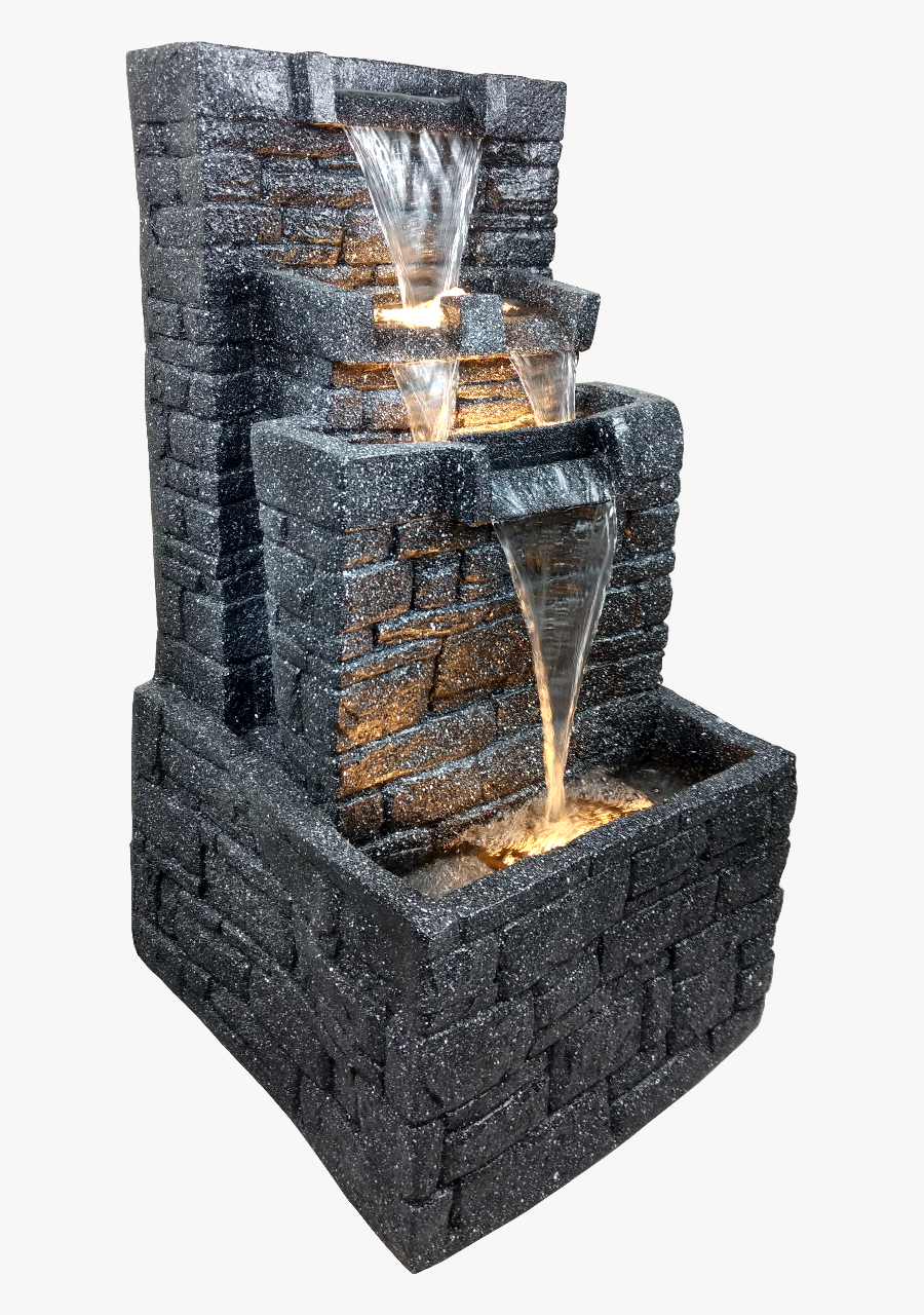 Office Png Office Water Fountain In Yard - Water Fountain Showpiece For Office, Transparent Clipart