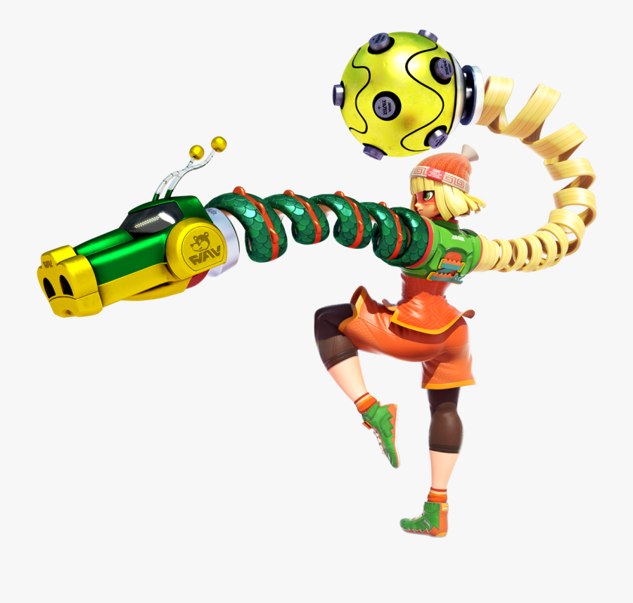 Arms Characters Nintendo Switch, Transparent Clipart