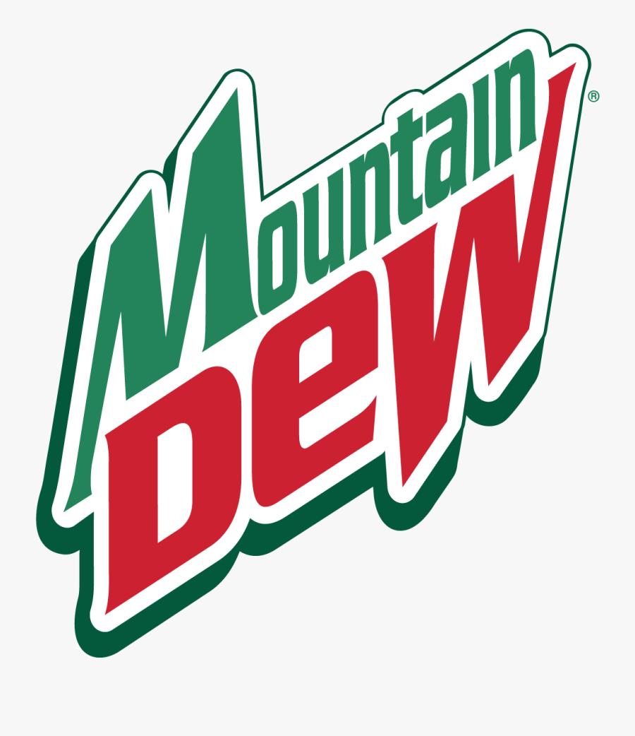 Mountain Dew Logo Vector - Mountain Dew Soft Drinks Logo, Transparent Clipart