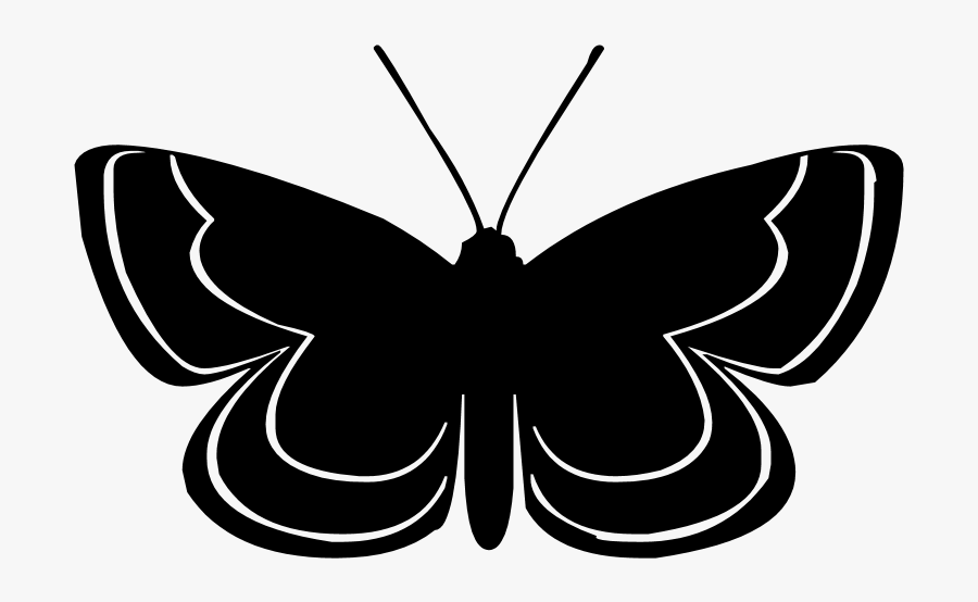 19 Butterfly Silhouette Frees That You Can Download - Animated Butterfly Silhouette, Transparent Clipart