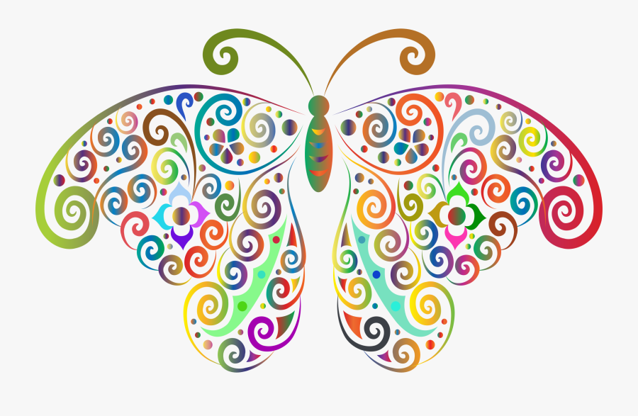 Butterfly,visual Arts,symmetry - Transparent Background Butterfly Clipart, Transparent Clipart