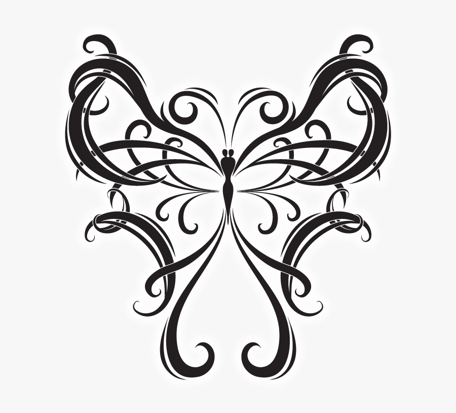 Tattoo Computer Graphics Clip Art - Swallowtail Butterfly, Transparent Clipart