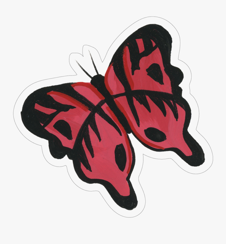 Butterfly Print & Cut File - Swallowtail Butterfly, Transparent Clipart