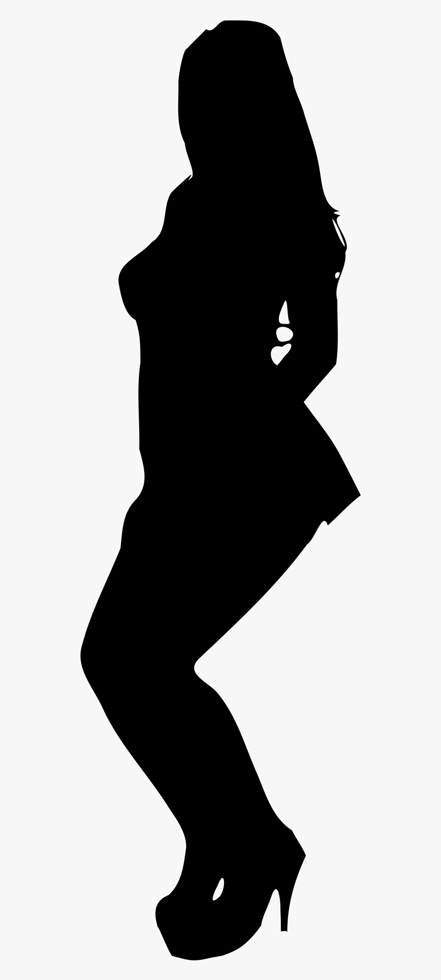 Woman Silhouette 12 Clip Arts - Corpo De Uma Mulher Em Png, Transparent Clipart