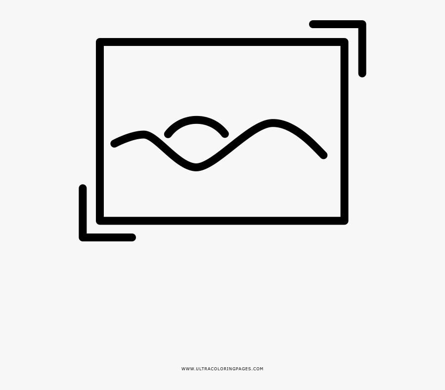 Art Coloring Page - Facial Recognition System Logo, Transparent Clipart