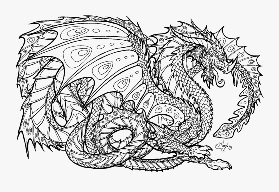Free Dragon Coloring Pages Chinese Dragon Colouring Pages Free Transparent Clipart Clipartkey