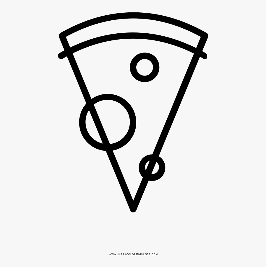Pizza Slice Coloring Page Ultra Pages Cheese Colouring ...