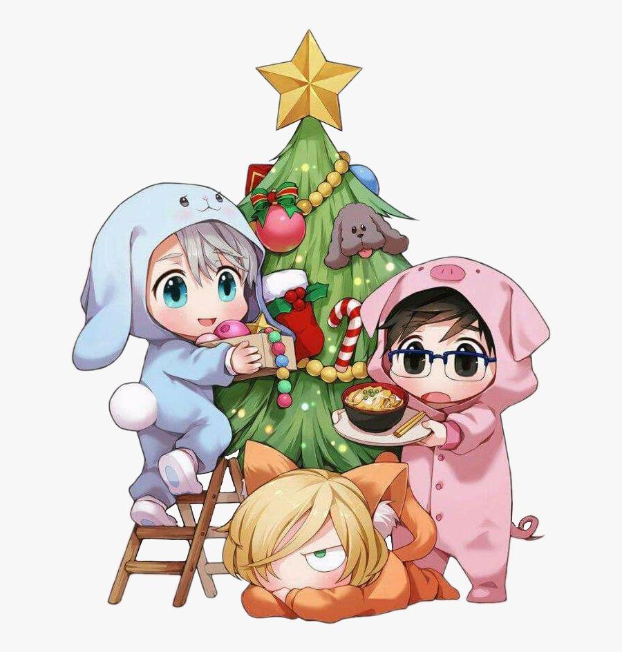 #christmas #christmastree #cat #kitty #pig #piggy #bunny, Transparent Clipart