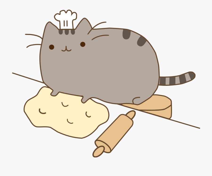 Pusheen Cat Clipart Chubby Tabby Cute Kawaii Animal Gifs Free Transparent Clipart Clipartkey