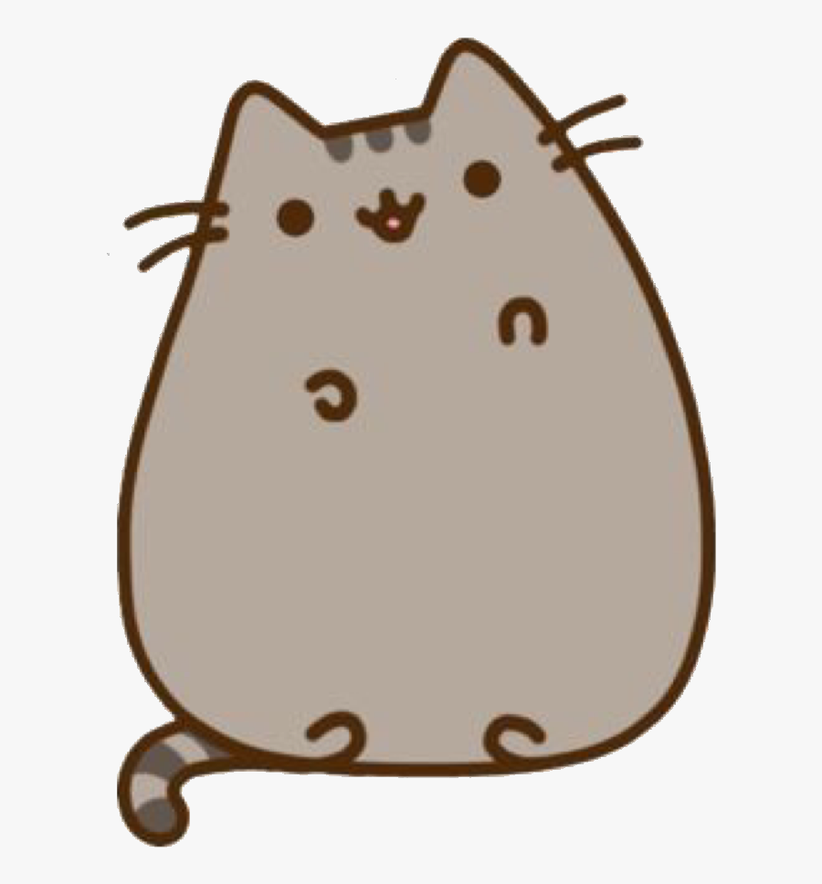 Pusheen Stickers, Transparent Clipart