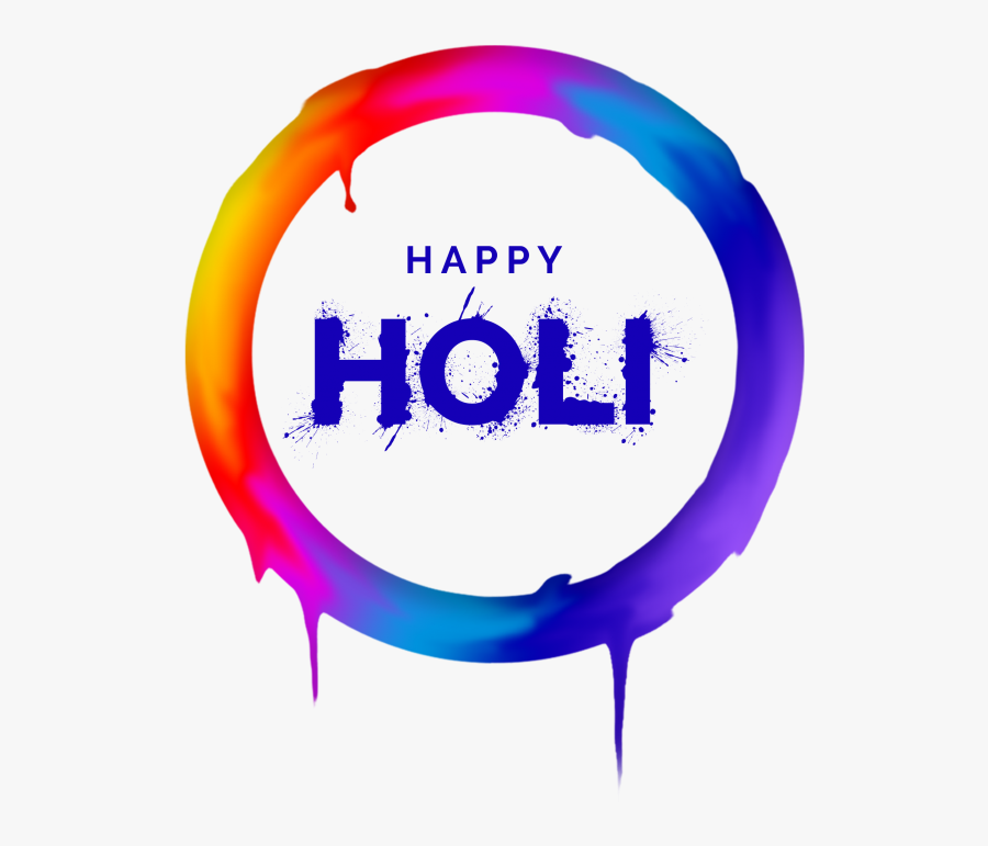 Happy Holi Png Clipart - Happy Holi Png Text, Transparent Clipart