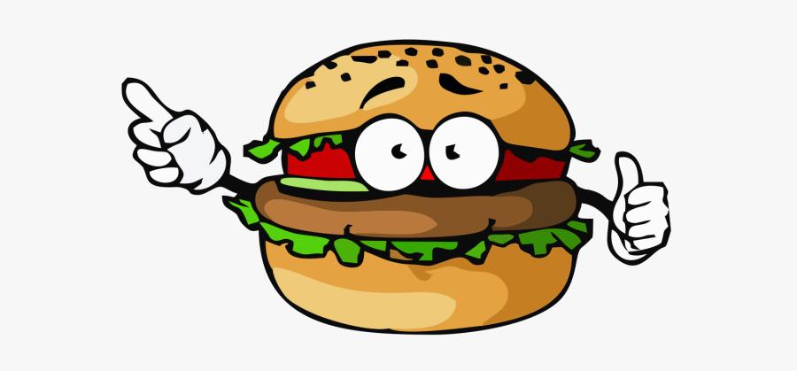 Vector Hamburger Junk Food - Hamburger And Hotdog Clipart, Transparent Clipart