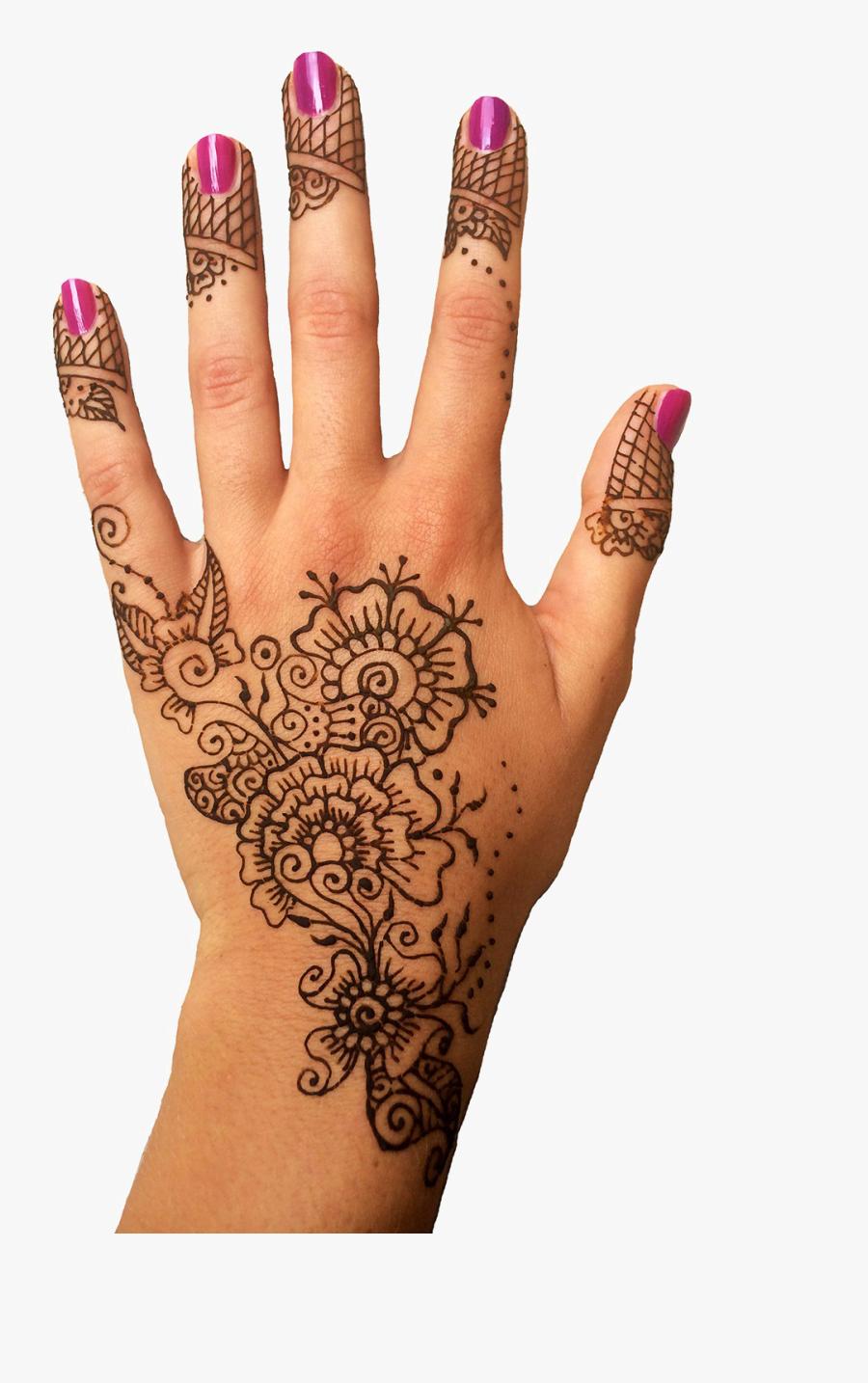Mehendi Hand Designs Transparent Png Henna On Hand Png Free Transparent Clipart Clipartkey