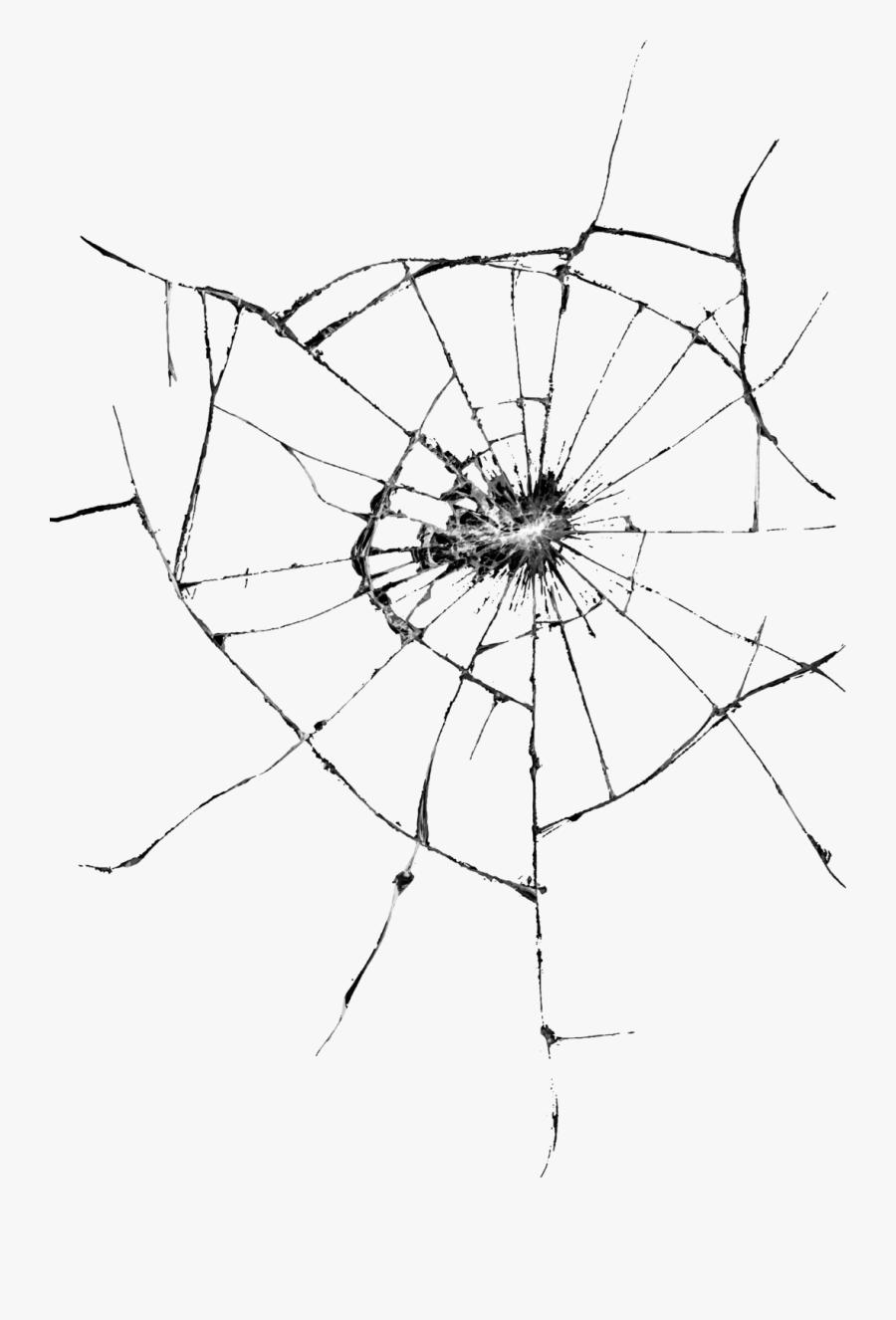 Transparent Broken Glass Drawing, Transparent Clipart
