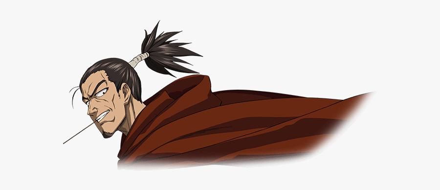 Clip Art Image Anime Artwork Png - One Punch Man Samurai, Transparent Clipart