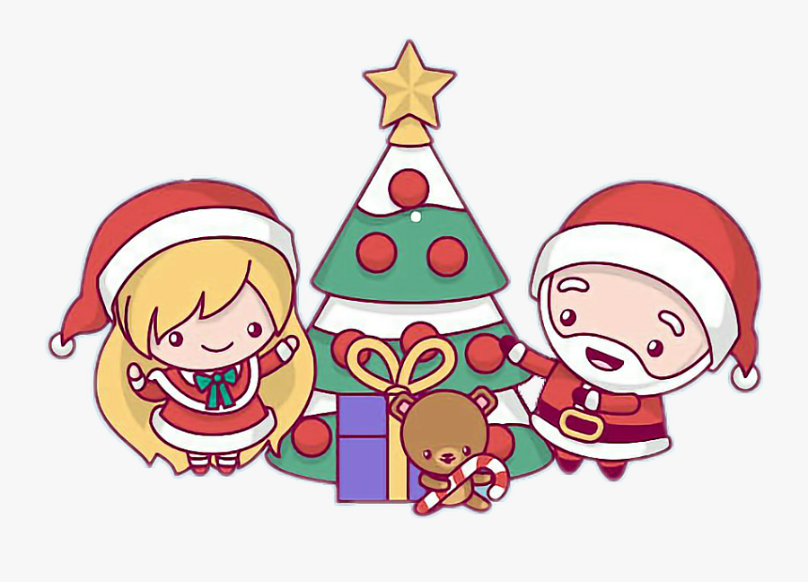 Animated Merry Christmas Cute, Transparent Clipart