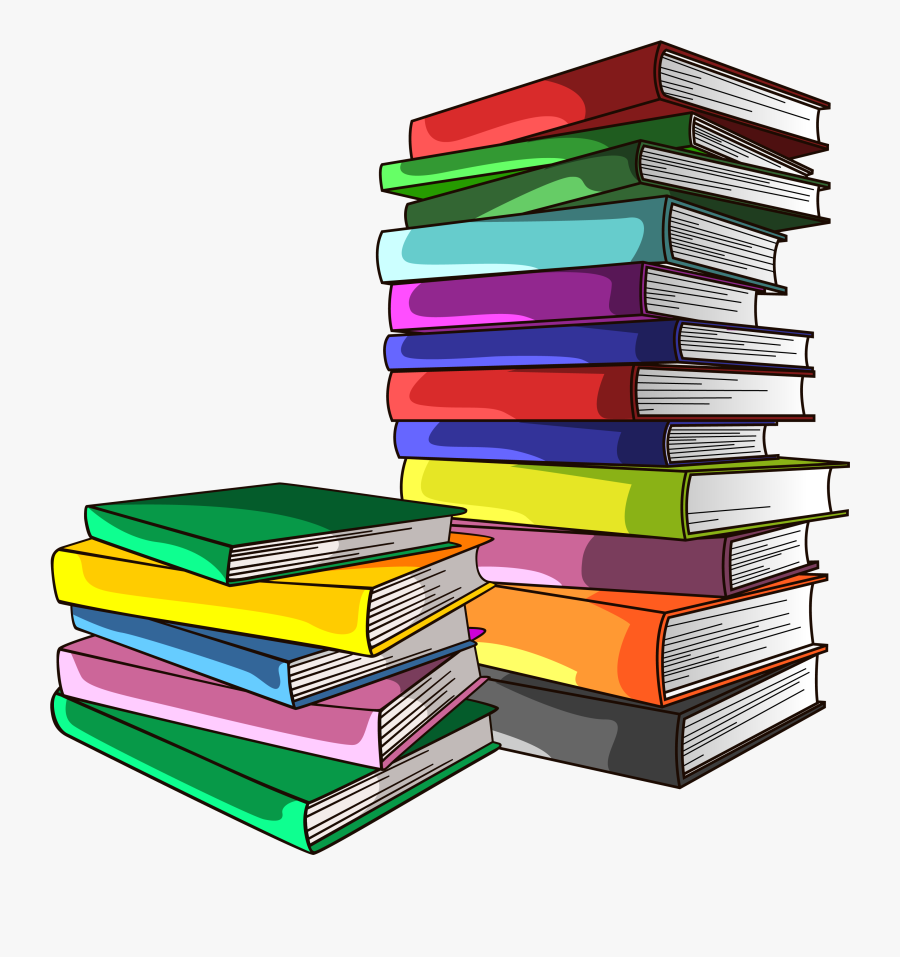 Textbook Euclidean Vector - Stack Of Books Png, Transparent Clipart
