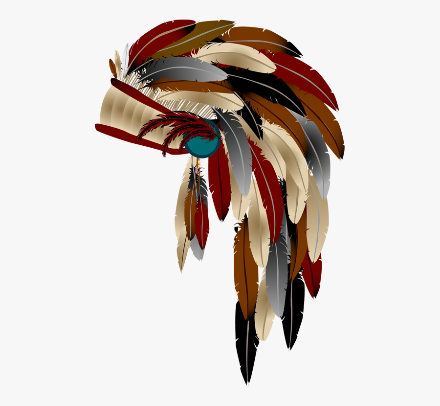 Native American Headdress Png, Transparent Clipart