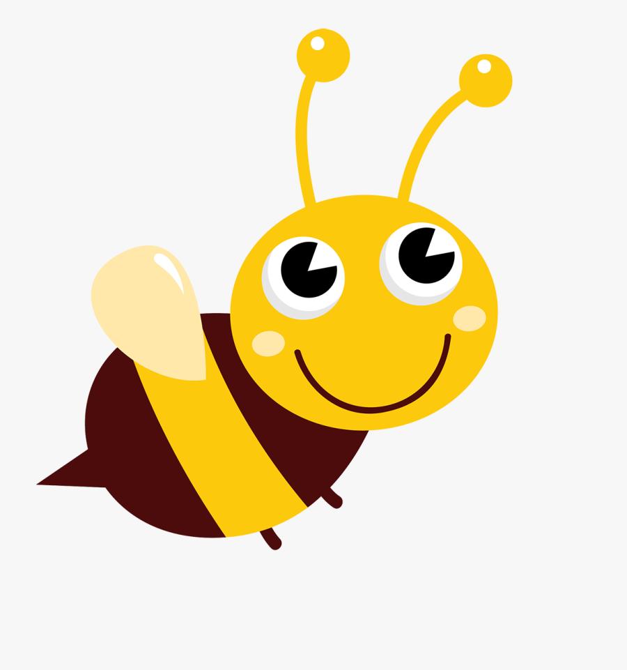 Immengarten-fewo Bienen Frieren Bienen Frieren Bienen - Cute Flowers And Bees, Transparent Clipart
