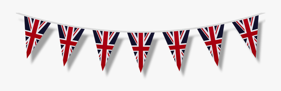Picnic Bunting - Union Jack Bunting Png, Transparent Clipart