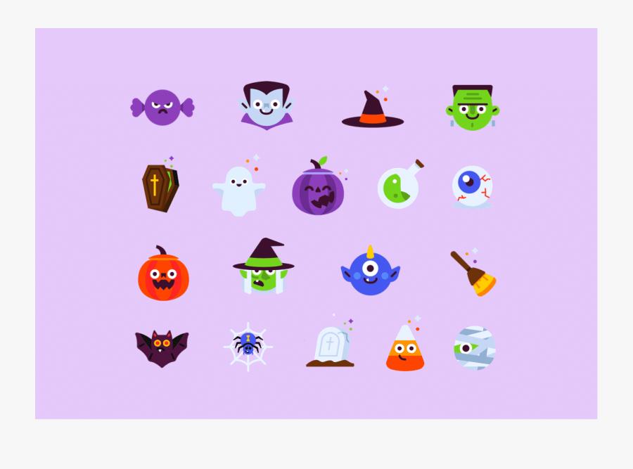 Free Halloween Icon Set By Proto - Free Halloween Icon Set, Transparent Clipart