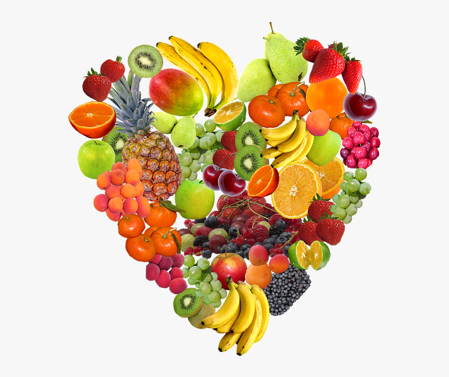 Clip Art Healthy Background - Healthy Foods, Transparent Clipart