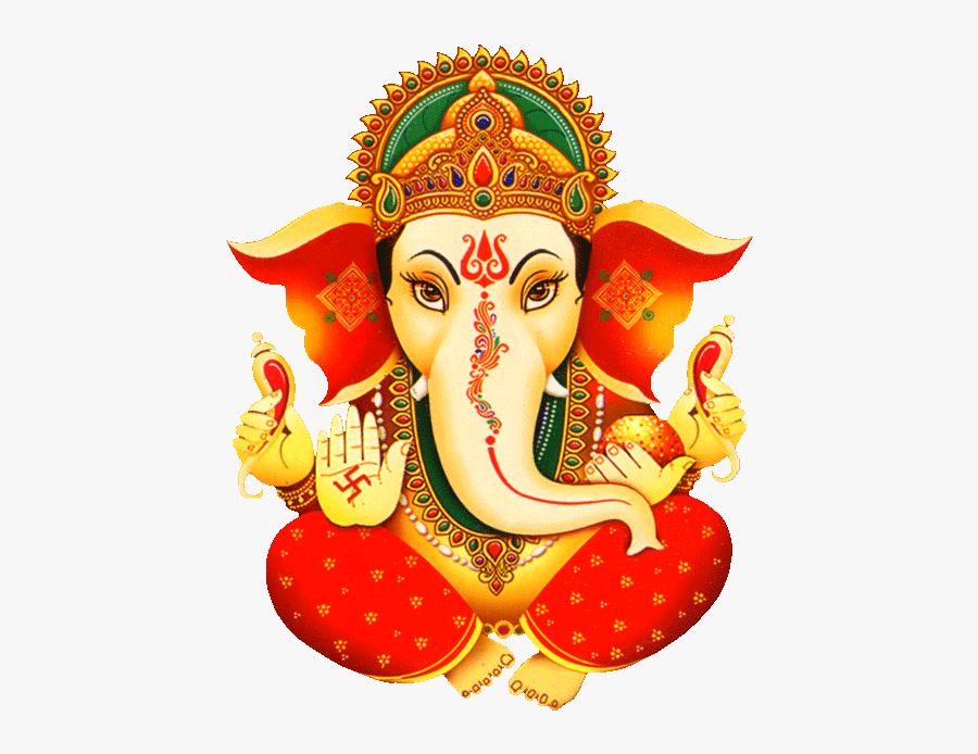 Colour Ganesh Clip Art, Transparent Clipart