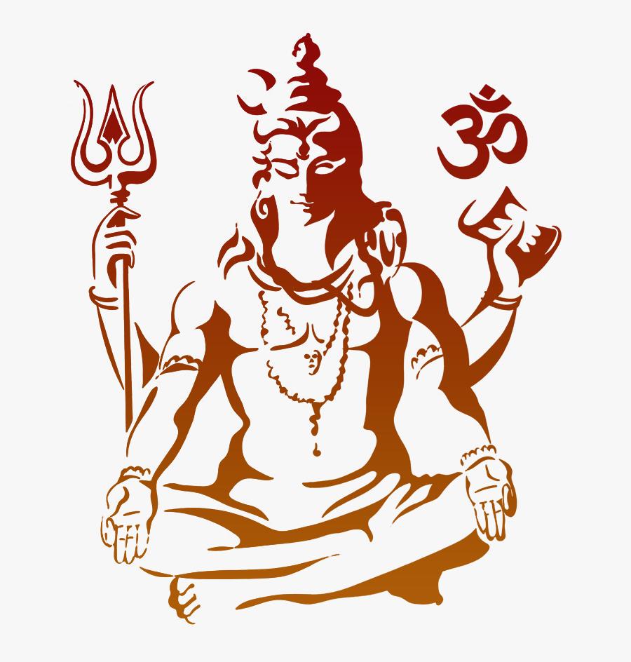 Lord Shiva Design, Transparent Clipart