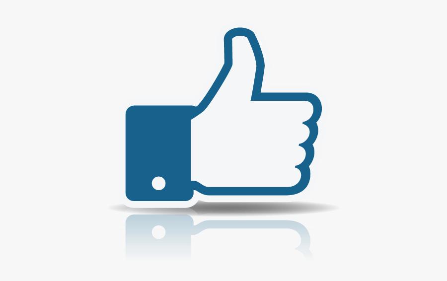 Thumbs Up - Facebook, Transparent Clipart