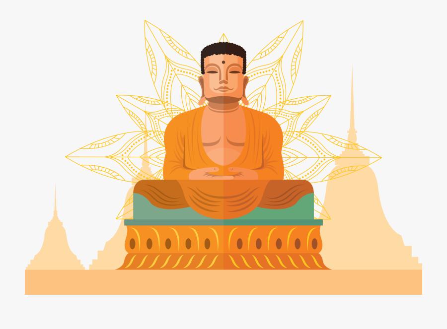 Meditation,fictional Character,guru,zen - Buddha Free Illustration Download, Transparent Clipart