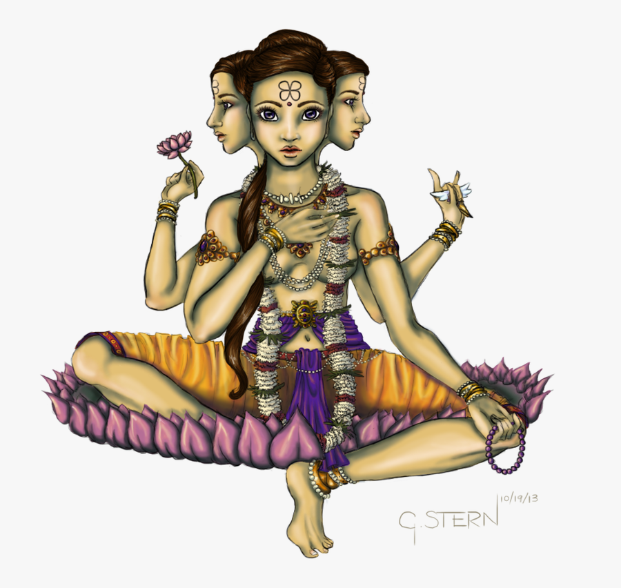 Shiva Drawing The Destroyer - Illustration, Transparent Clipart