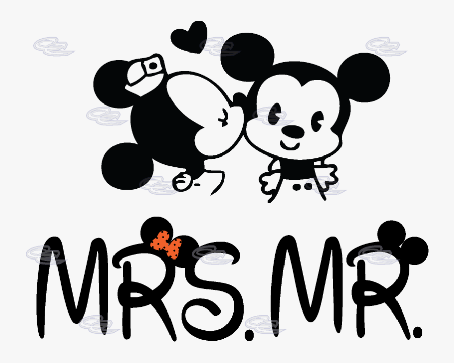 Groom Clipart Mickey Mouse - Disney Mickey And Minnie Mouse, Transparent Clipart