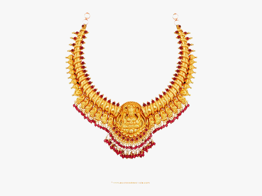 Earring Jewellery Necklace Gold Jewelry Design - Gold Necklace Designs Png, Transparent Clipart