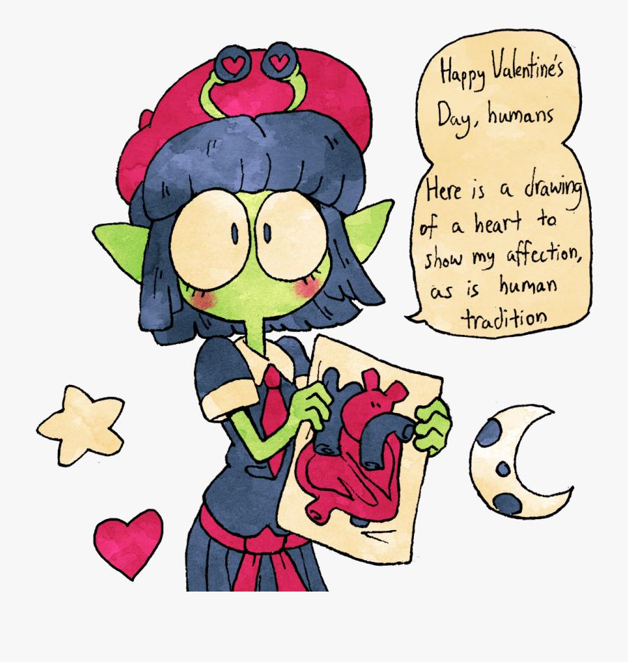 Happy Valentine's Day - Cartoon, Transparent Clipart