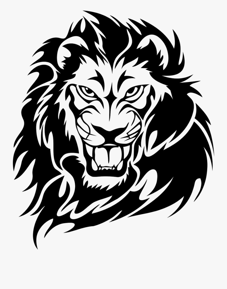 Transparent Lion Head Png Tribal Lion Tattoo Design Free Transparent Clipart Clipartkey Lion roar tribal outline by suncoaststore inktale. transparent lion head png tribal lion
