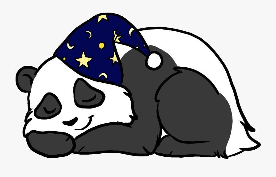 E - S - C - Mattress Center Logo Of A Sleeping Panda - Cartoon Panda Sleeping Png, Transparent Clipart