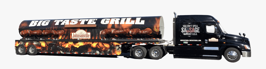 Big Taste Grill Truck - Barbecue Grill, Transparent Clipart