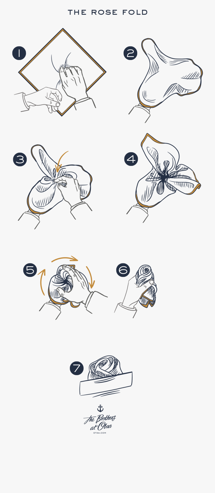 How To Fold A Rose Fold - Rose Fold, Transparent Clipart