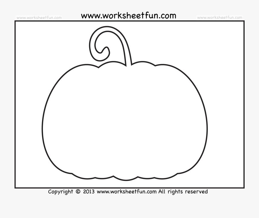Pumpkin Template Free Printable, Transparent Clipart