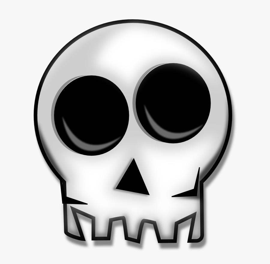 Skull Human Skeleton Bone Clip Art - Skull Remix, Transparent Clipart