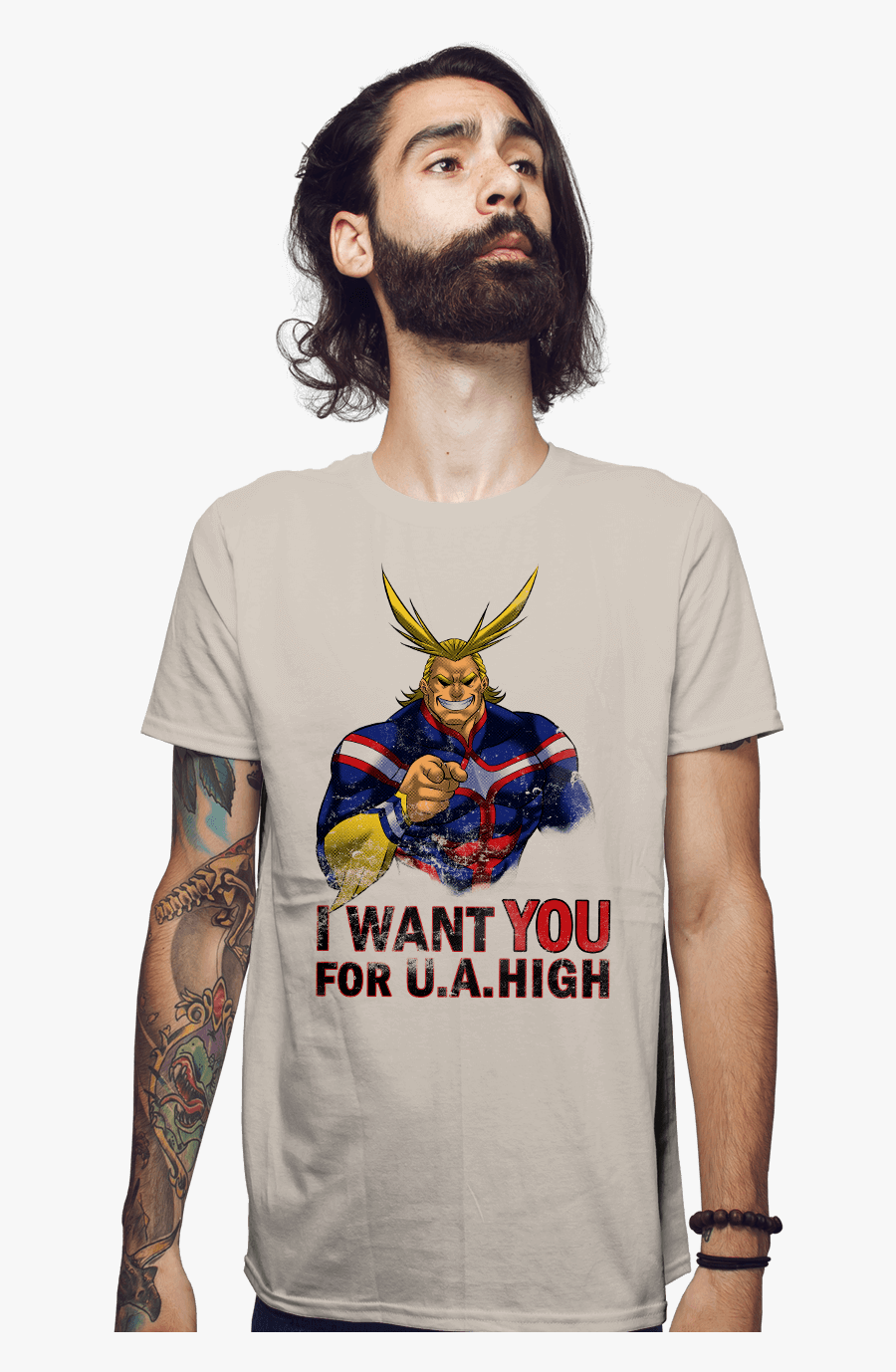 Uncle All Might Want You For Us Army- - Want You For Us Army, Transparent Clipart