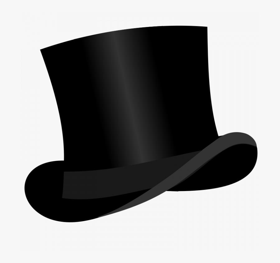 Transparent Snowman Hat Clipart - Black Top Hat Clipart, Transparent Clipart