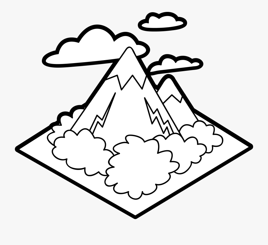 Mountain For Kids, Transparent Clipart