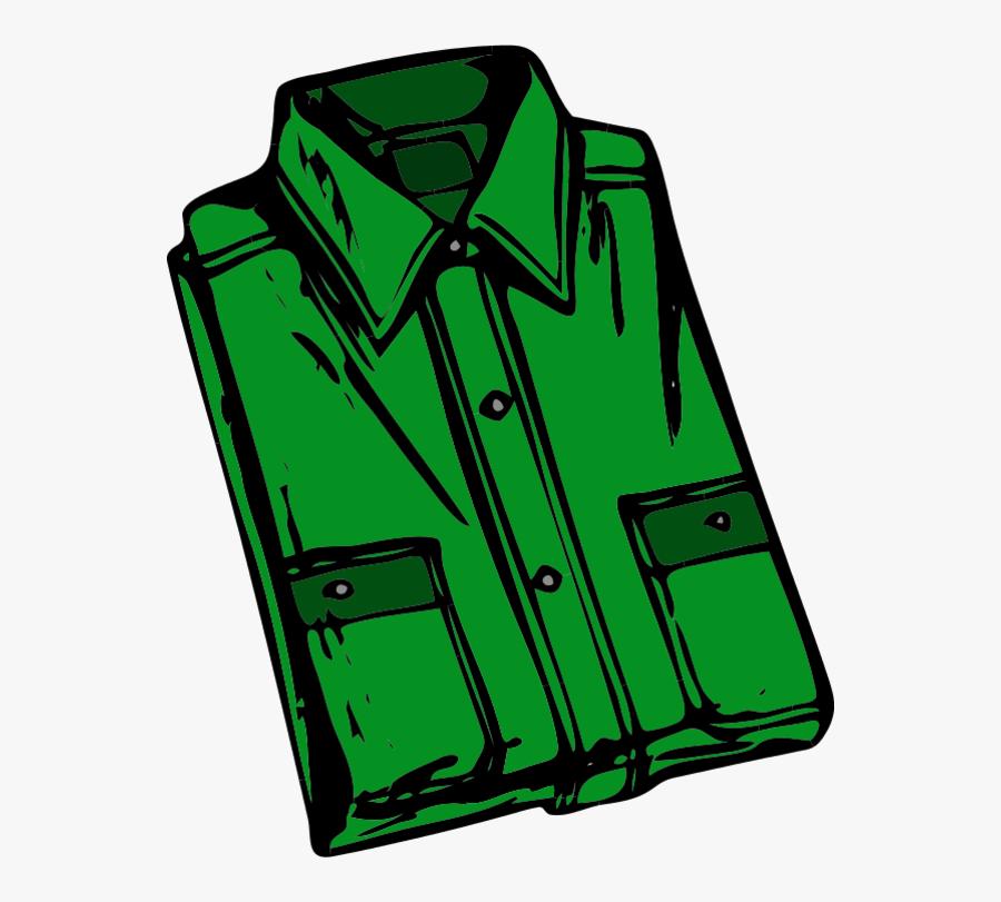 Folded Clothes Clip Art - Shirt Images Clip Art, Transparent Clipart
