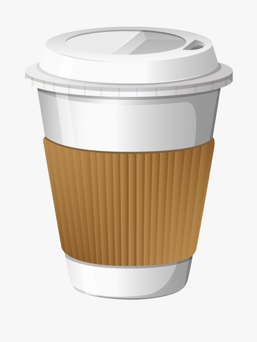 Best Hd Coffee Plastic Cup Design - Cartoon Coffee Cup Transparent Background, Transparent Clipart