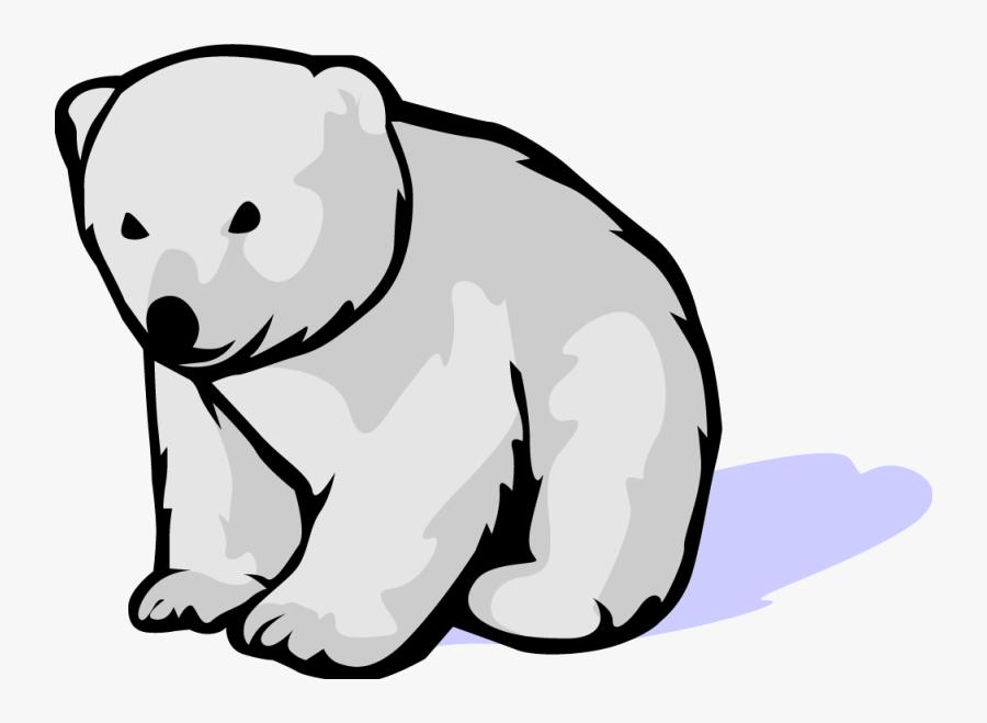 Christmas Hubpicture Pin - Polar Bear Cartoon Free, Transparent Clipart