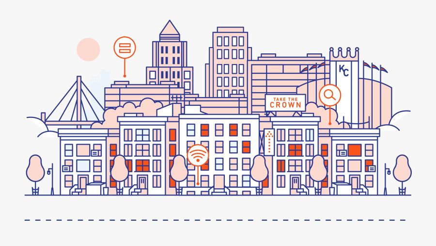 How Seven Cities Are - Kansas City Graphics, Transparent Clipart